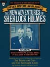 The Terrifying Cats and The Submarine Cave (MP3): The New Adventures of Sherlock Holmes Series, Episode 16